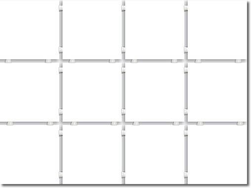 1230 Конфетти полотно из 12 частей 9,9*9,9