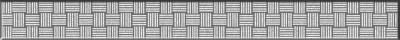 Бордюр Glass серебристый стеклянный (GL7H371)