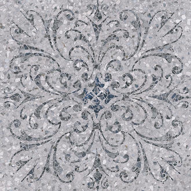 SG632700R Терраццо серый декорированный обрезной