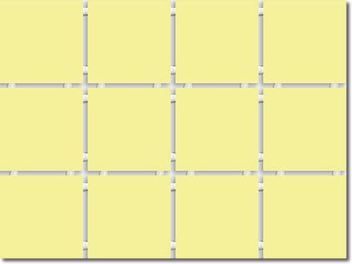 1217 Конфетти полотно из 12 частей 9,9*9,9