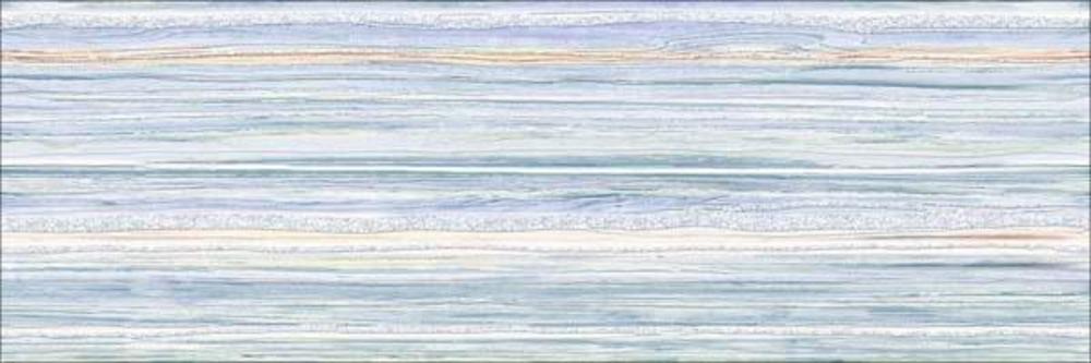 Декор Бриз полосы голубая (ВС11БР606)