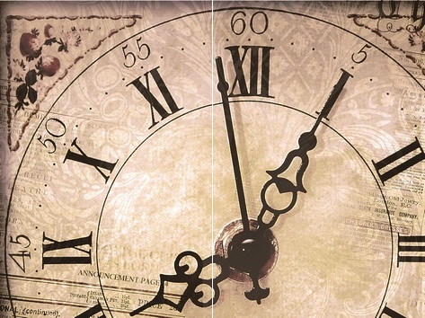 Панно Clock P2-1D176 (из 2-х пл.)