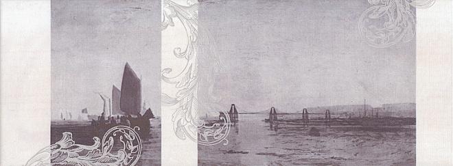 Декор Ньюпорт Корабли фиолетовый STG\C208\15010