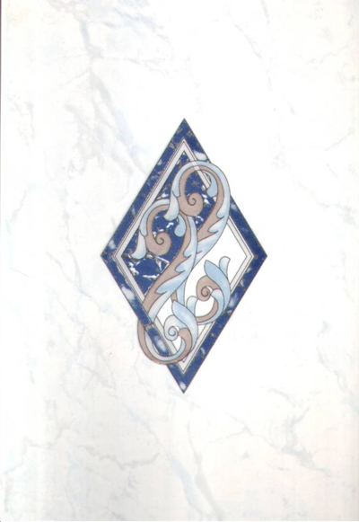 Декор карелия синий